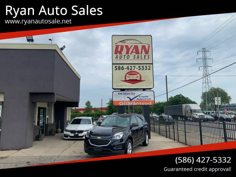 2017 Chevrolet Equinox for sale at Ryan Auto Sales in Warren MI