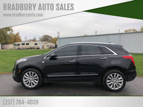 2019 Cadillac XT5 for sale at BRADBURY AUTO SALES in Gibson City IL