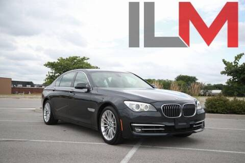 2013 BMW 7 Series for sale at INDY LUXURY MOTORSPORTS in Fishers IN