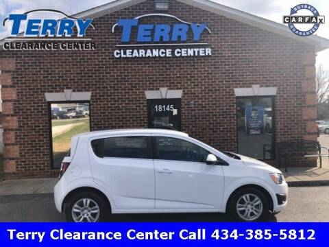 2016 Chevrolet Sonic for sale at Terry Clearance Center in Lynchburg VA
