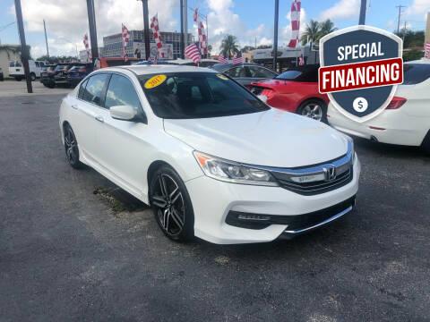 2017 Honda Accord for sale at MACHADO AUTO SALES in Miami FL