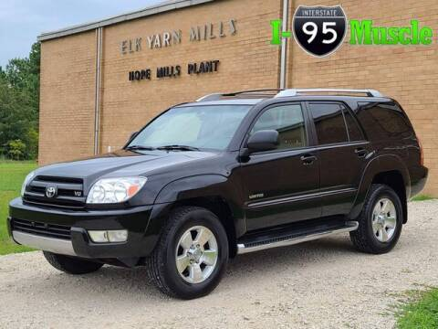2003 Toyota 4Runner for sale at I-95 Muscle in Hope Mills NC