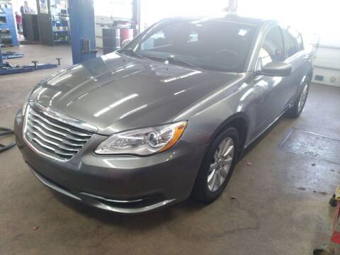 2013 Chrysler 200 for sale at Cammisa's Garage Inc in Shelton CT