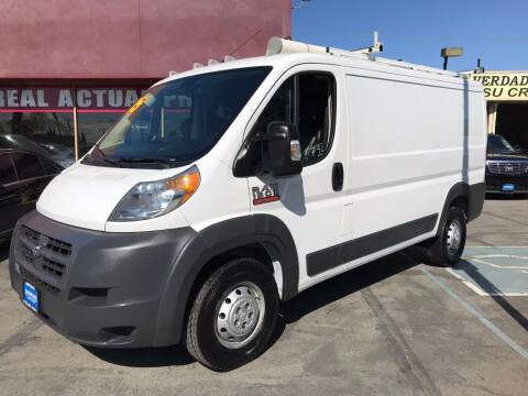 2015 RAM ProMaster Cargo for sale at Sanmiguel Motors in South Gate CA