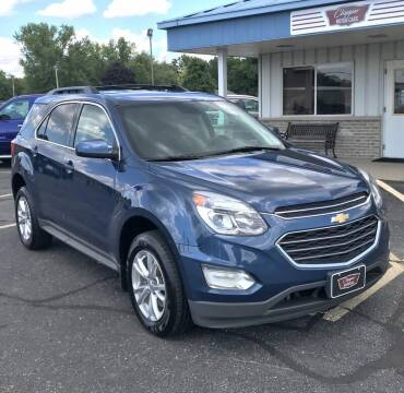 2016 Chevrolet Equinox for sale at Clapper MotorCars in Janesville WI
