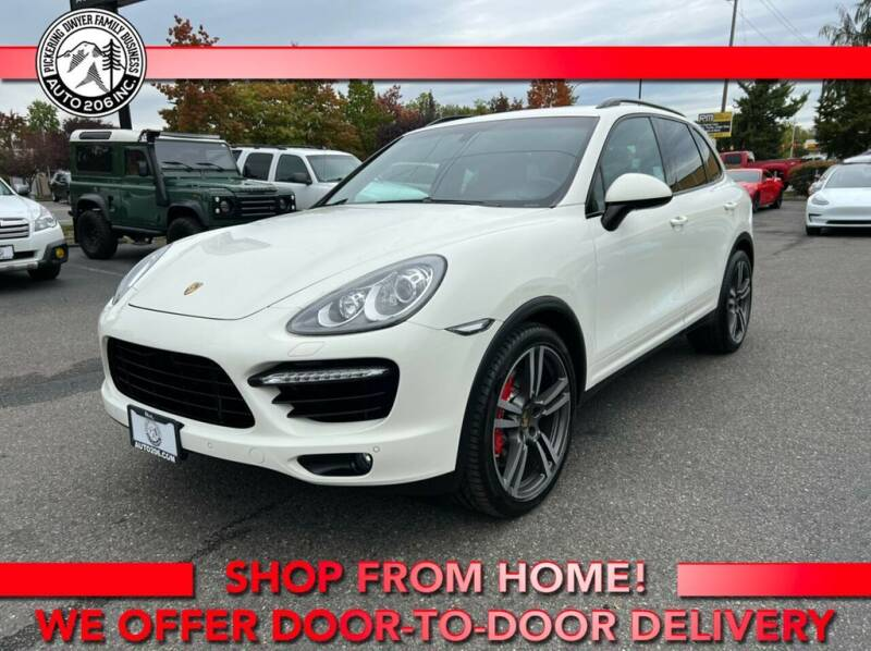 2012 Porsche Cayenne for sale at Auto 206, Inc. in Kent WA