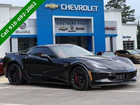 2019 Chevrolet Corvette for sale at PHIL SMITH AUTOMOTIVE GROUP - SOUTHERN PINES GM in Southern Pines NC