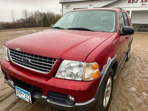 2003 Ford Explorer for sale at RDJ Auto Sales in Kerkhoven MN