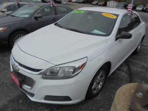 2015 Chevrolet Malibu for sale at Century Auto Sales LLC in Appleton WI
