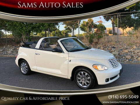 2006 Chrysler PT Cruiser for sale at Sams Auto Sales in North Highlands CA