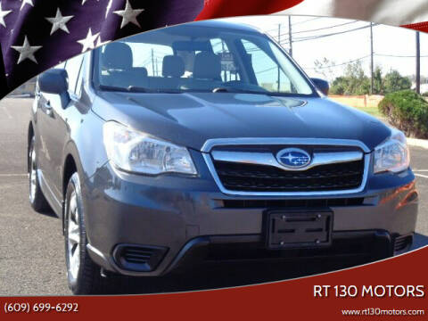 2015 Subaru Forester for sale at RT 130 Motors in Burlington NJ