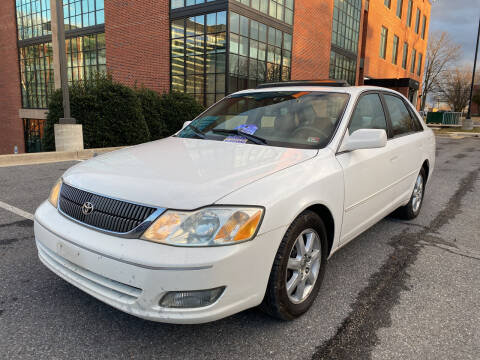 2001 Toyota Avalon for sale at Auto Wholesalers Of Rockville in Rockville MD