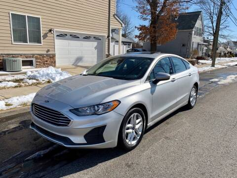 2019 Ford Fusion Hybrid for sale at Jordan Auto Group in Paterson NJ