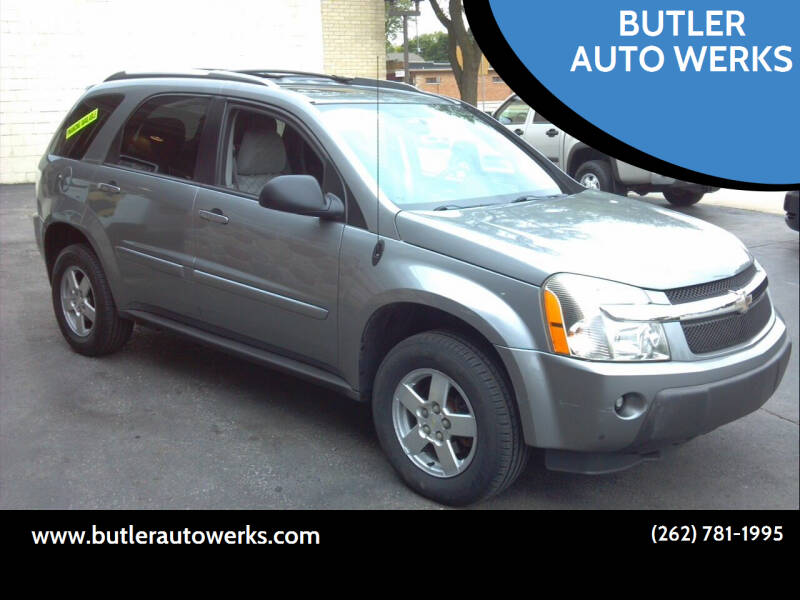 2005 Chevrolet Equinox for sale at BUTLER AUTO WERKS in Butler WI