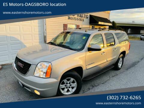 2007 GMC Yukon XL for sale at ES Motors-DAGSBORO location in Dagsboro DE