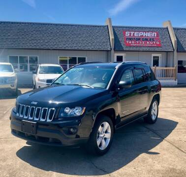 2016 Jeep Compass for sale at Stephen Motor Sales LLC in Caldwell OH