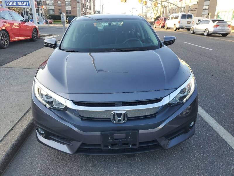 2016 Honda Civic for sale at OFIER AUTO SALES in Freeport NY