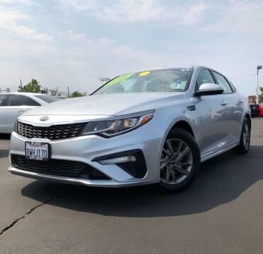 2019 Kia Optima for sale at LUGO AUTO GROUP in Sacramento CA