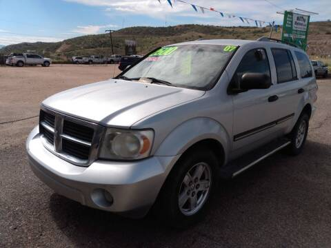 2007 Dodge Durango for sale at Hilltop Motors in Globe AZ