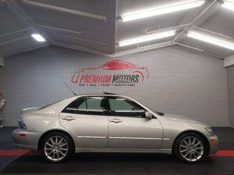 2005 Lexus IS 300 for sale at Premium Motors in Villa Park IL