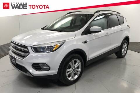 2018 Ford Escape for sale at Stephen Wade Pre-Owned Supercenter in Saint George UT
