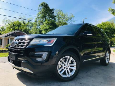 2017 Ford Explorer for sale at Cobb Luxury Cars in Marietta GA