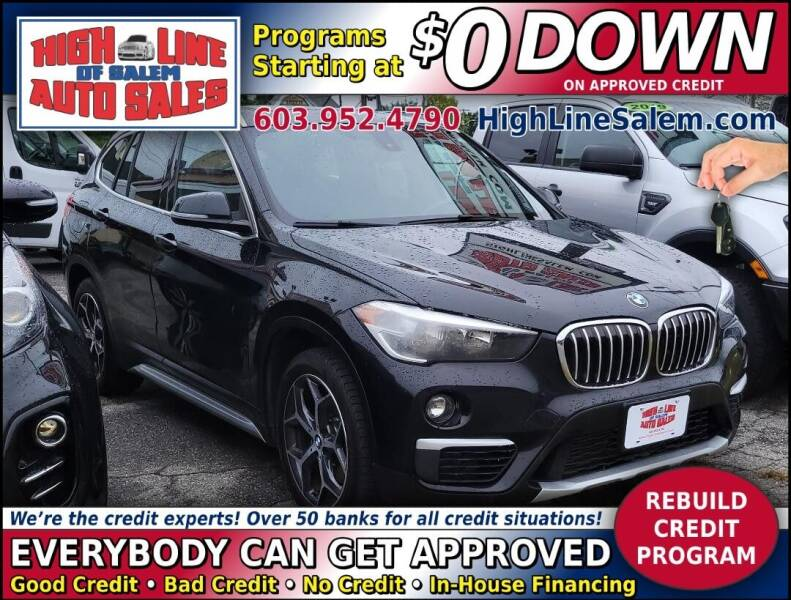 2018 BMW X1 for sale at High Line Auto Sales of Salem in Salem NH
