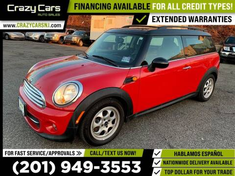 2012 MINI Cooper Clubman for sale at Crazy Cars Auto Sale in Jersey City NJ