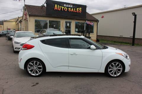 2012 Hyundai Veloster for sale at BANK AUTO SALES in Wayne MI