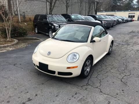 2006 Volkswagen New Beetle Convertible for sale at Five Brothers Auto Sales in Roswell GA