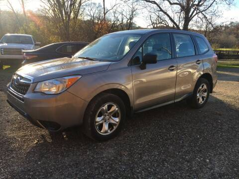 2014 Subaru Forester for sale at DONS AUTO CENTER in Caldwell OH