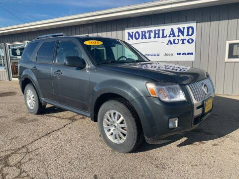 2010 Mercury Mariner for sale at Northland Auto in Humboldt IA
