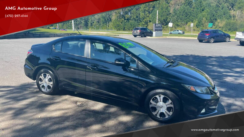 2013 Honda Civic for sale at AMG Automotive Group in Cumming GA