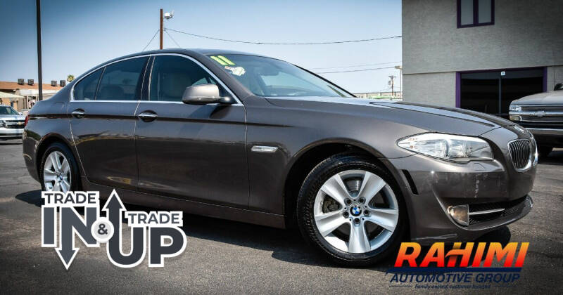 2011 BMW 5 Series for sale at Rahimi Automotive Group in Yuma AZ