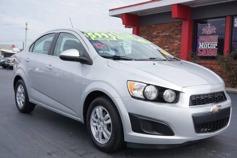 2015 Chevrolet Sonic for sale at Premium Motors in Louisville KY