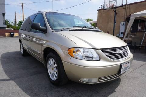 2003 Chrysler Town and Country for sale at Win Motors Inc. in Los Angeles CA