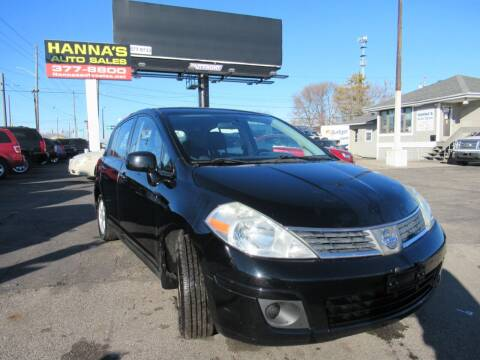 2008 Nissan Versa for sale at Hanna's Auto Sales in Indianapolis IN