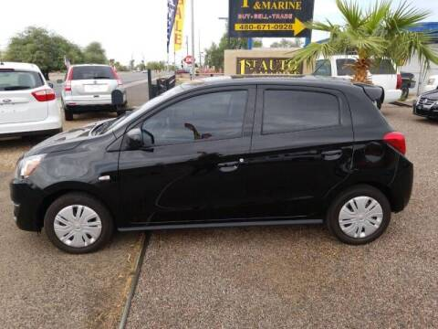 2019 Mitsubishi Mirage for sale at 1ST AUTO & MARINE in Apache Junction AZ