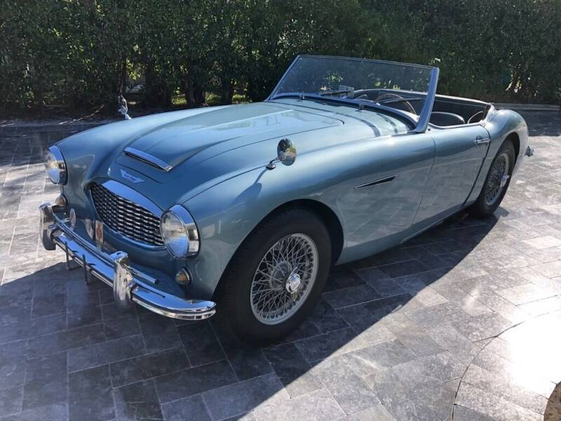 1957 Austin-Healey 100-6 for sale at SPECIALTY AUTO BROKERS, INC in Miami FL