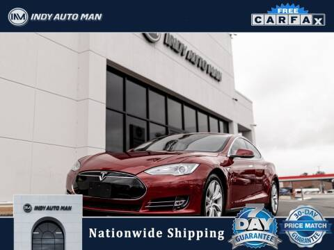 2014 Tesla Model S for sale at INDY AUTO MAN in Indianapolis IN