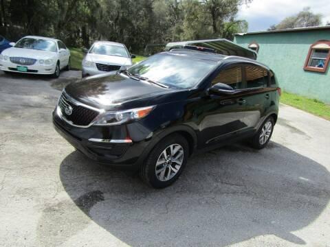 2015 Kia Sportage for sale at S & T Motors in Hernando FL