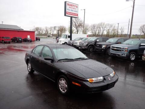 2001 Saturn S-Series for sale at Marty's Auto Sales in Savage MN