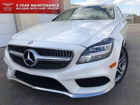 2015 Mercedes-Benz CLS for sale at European Motors Inc in Plano TX