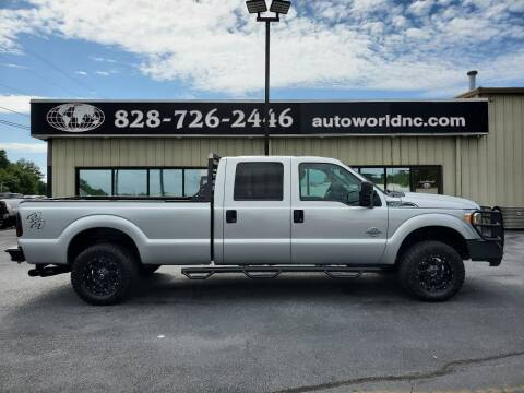 2016 Ford F-250 Super Duty for sale at AutoWorld of Lenoir in Lenoir NC