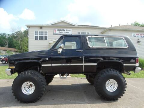 1983 GMC Jimmy for sale at SOUTHERN SELECT AUTO SALES in Medina OH