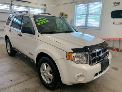2008 Ford Escape for sale at G & G Auto Sales in Steubenville OH