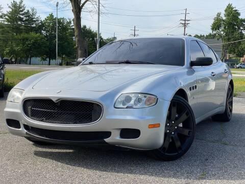 2006 Maserati Quattroporte for sale at MAGIC AUTO SALES - Magic Auto Prestige in South Hackensack NJ