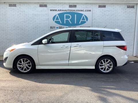 2012 Mazda MAZDA5 for sale at ARIA AUTO SALES INC.COM in Raleigh NC