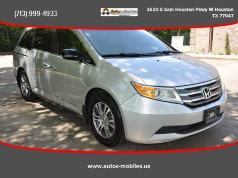 2012 Honda Odyssey for sale at AUTOS-MOBILES in Houston TX