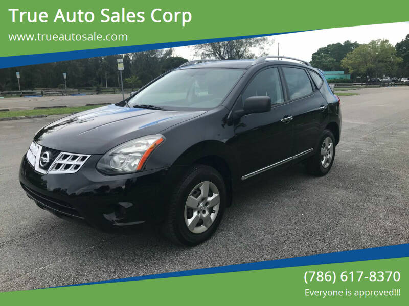 2015 Nissan Rogue Select for sale at True Auto Sales Corp in Miami FL